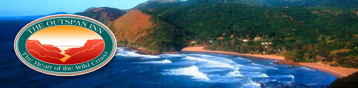About Port St Johns header image - view of Second Beach
