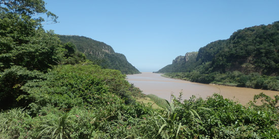The Mzimvubu River