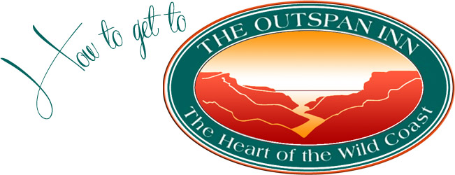 How to get to The Outspan Inn - The Heart of the Wild Coast