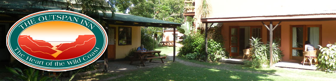 Accommodation in Port St Johns - exterior view of our self catering and Bed and Breakfast rooms.