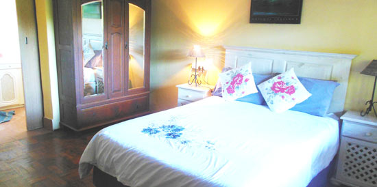 Interior view of our Self Catering accommodation